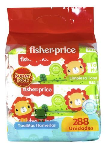 Fisher Price Toallas Húmedas 12x96und - Limpieza Total