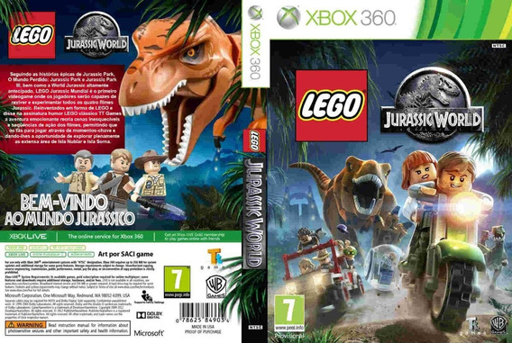 Lego Jurassic World Xbox 360 Rgh Envio Digital