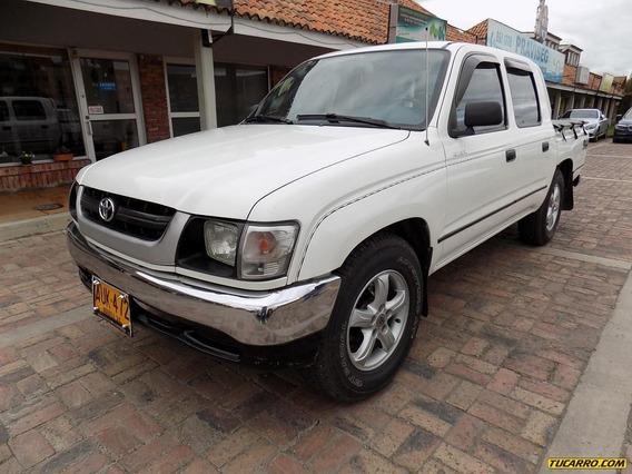 Toyota Hilux Et Dc 2.4cc Mt Aa