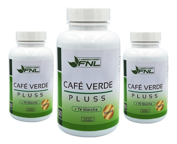 Cafe Verde Pluss - Te Matcha 270 Capsulas 90 C/u