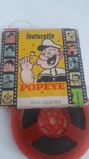 Pelicula Super 8 - Popeye - Infantil - Aventuras - B Y N.