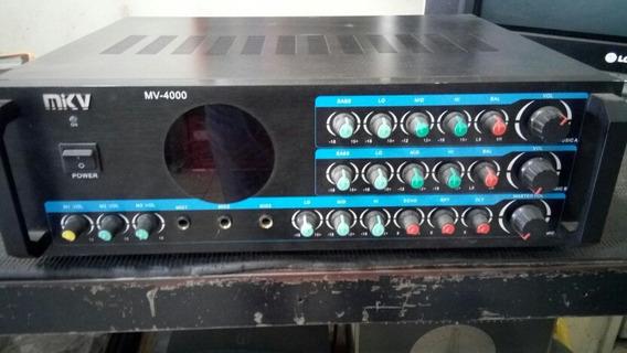 Amplificador Chino Mkv 59verdes Como Nuevo, Detalle
