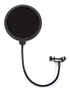 Filtro Anti Pop Doble Capa Para Micrófono Ajustable / Lhua