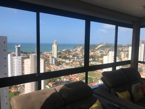 Apartamento Com 2 Dormitórios Para Alugar, 75 M² Por R$ 1.800,00/ano - Ponta Negra - Natal/rn - Ap0895