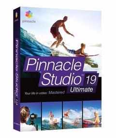 Pinnacle Studio 19 Ultimate Original Pinnacle Dvd Original