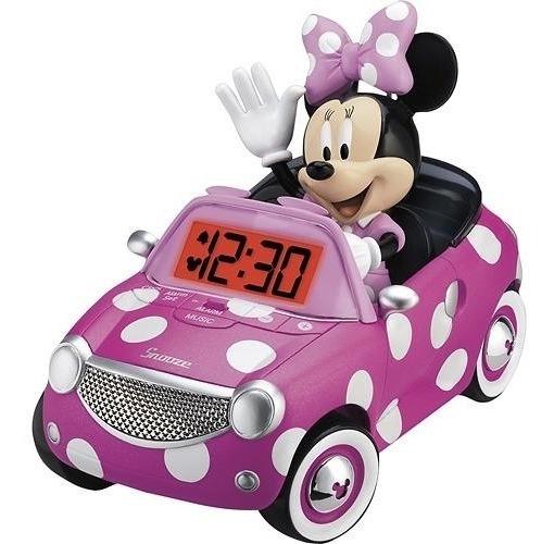 Ekids - Minnie Mouse Reloj Despertador