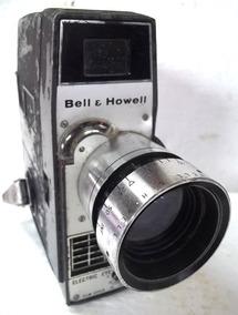 Filmadora Bell E Howell Electric Eye Corda Raro Não Funciona