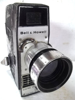 Filmadora Bell E Howell Electric Eye Corda Raro Não Funciona