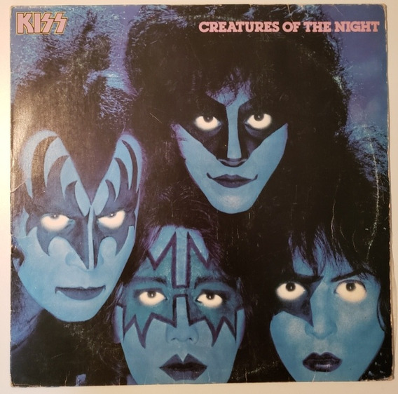 Lp Vinil Kiss Criatures Of The Night Brasil-1983