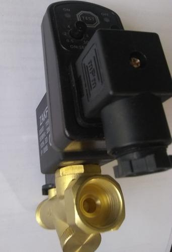 Dingln Regulador de la v/álvula del Interruptor de Control de presi/ón del compresor de Aire 90-120 PSI con medidores Dobles