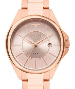 Relogio Technos Feminino Rose Gold- 2115mop/4c