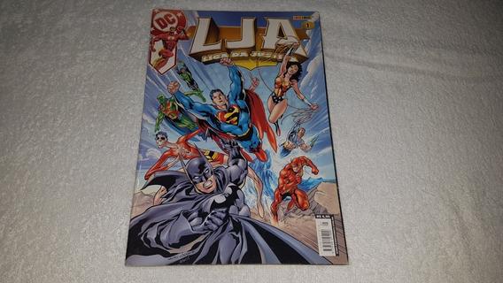 Hq Liga Da Justiça Nº 1 (1ª Série) Ed Panini - 2003 F. Álbum