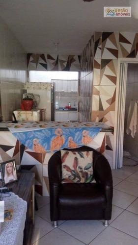 Imagem 1 de 11 de Casa Com 2 Dormitórios À Venda, 40 M² Por R$ 170.000,00 - Umuarama Parque Itanhaém - Itanhaém/sp - Ca0668