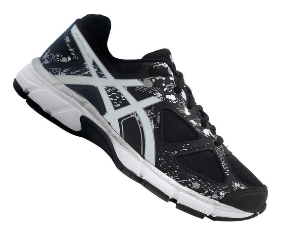Tênis Asics Infantil Gel Light Play Menino Preto C008a9001