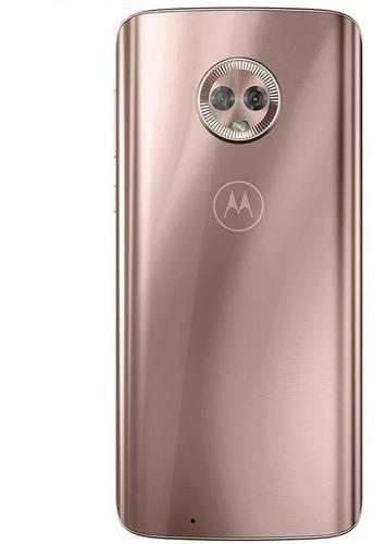 Tampa Traseira + Vidro Câmera Motorola Moto G6 Xt1925