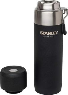 Botella De Agua Stanley Termo Master Series 650 Ml // Negro