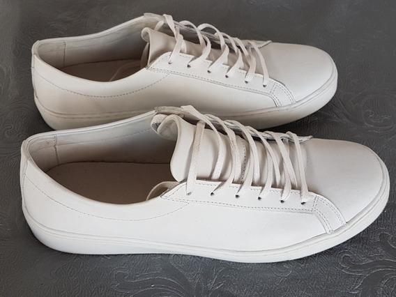 Tênis Saint Studio Branco Couro Legítimo Tamanho 41