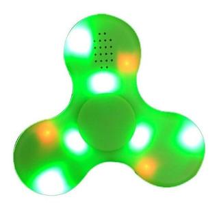 Generico Spinner Led Bluetooth Verde Juguete