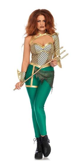 Disfraz Mujer Leg Avenue Aquaman Chico Mediano Grande