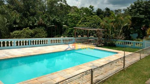 Chácara Com 3 Dormitórios À Venda, 6354 M² Por R$ 1.100.000 - Loteamento Caminhos Do Sol - Itatiba/sp - Ch0180