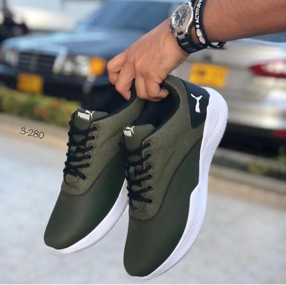 Zapatos Semi Casuales O Semi Deportivo Caballero