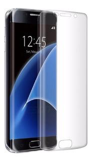 Mica Protector Pantalla Curvo Samsung S7 Edge Fibra D Vidrio