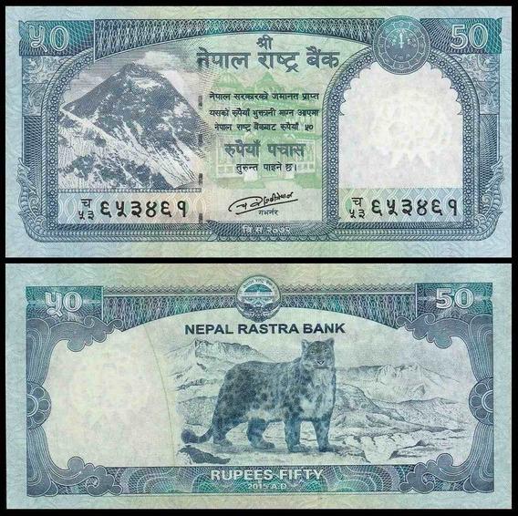 Nepal P-79 Fe 50 Rupees 2015 * C O L *
