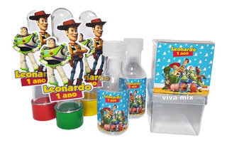 Kit Festa Lembrancinha Personalizada Toy Story C/60un