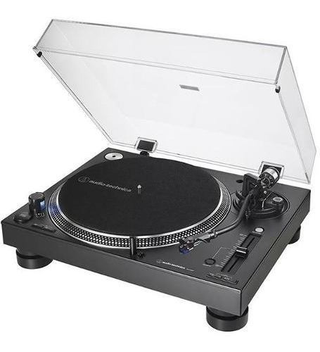 Toca Discos Audio-technica Pro At-lp140xp-bk (direct Drive)