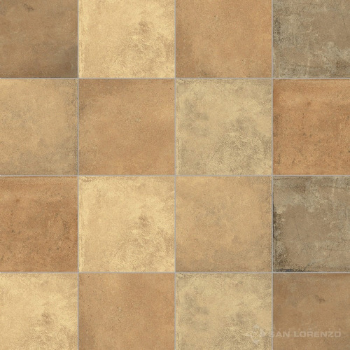 Ceramica Terre Mix Ladrillo 33x33 1ª Cal San Lorenzo