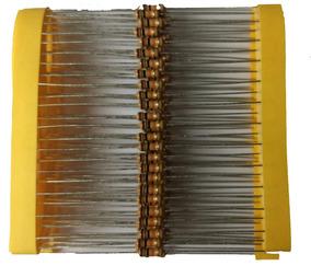 Resistor 1k Cr25 1/4w 5% - Pacote Com 100 Peças