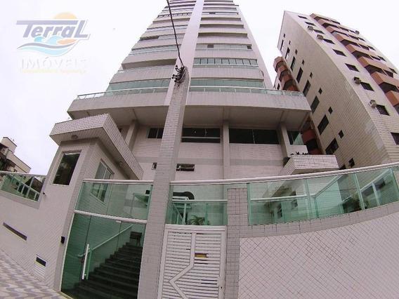 Apartamento Com 1 Dormitório À Venda, 54 M² Por R$ 255.000 - Campo Da Aviação - Praia Grande/sp - Ap6906