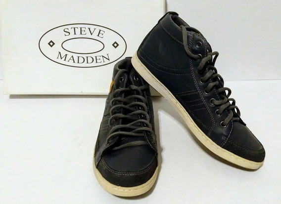 Tenis Casuales Marca Steve Madden Color Azul Oscuro.