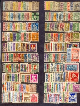 @ Suíça. Cerca De 250 Selos, Maioria U, De 1854/39+ 1000@