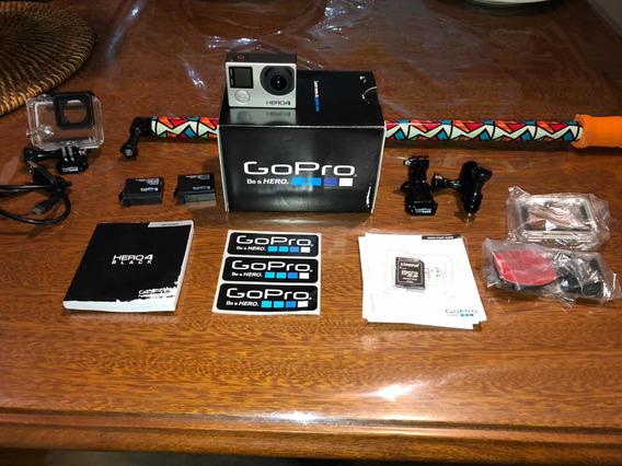Gopro Hero 4 Black + Accesorios