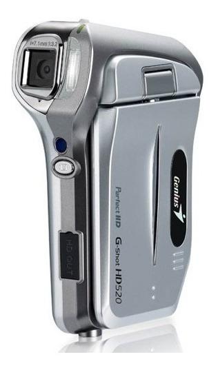 Genius G-shot Hd520, Hd Formato H.264 Resolución De 720p