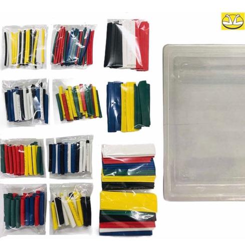 Super Kit Termoencogible Diferentes Colores Calibres + Caja