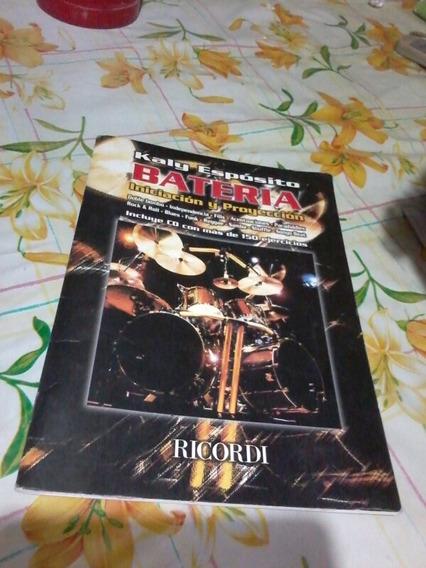 Libro Ricordi Kaly Esposito Bateria Inicicion Y Proyeccion C