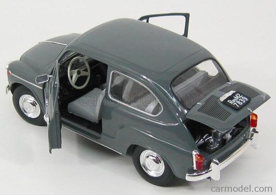 Fiat 600 D 1964 Gris - Revell 1/18
