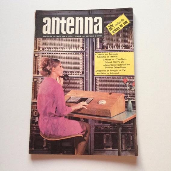 Revista Antenna Nº 01 Janeiro De 1973