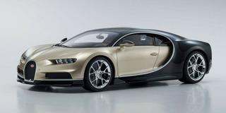Bugatti Chiron Gold Escala 1:12 Kyosho Pronta Entrega