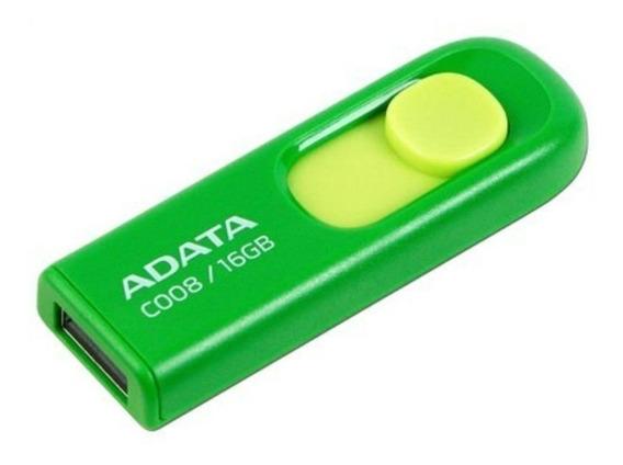 Memoria USB ADATA C008 16GB verde