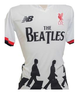 Camisa Do Liverpool Beatles