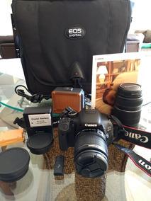 Camera Canon Eos 600d, Pouquissimo Uso.