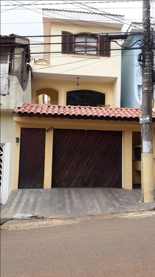 Sobrado Com 3 Dormitórios À Venda, 201 M² Por R$ 900.000 - Campestre - Santo André/sp - So21345