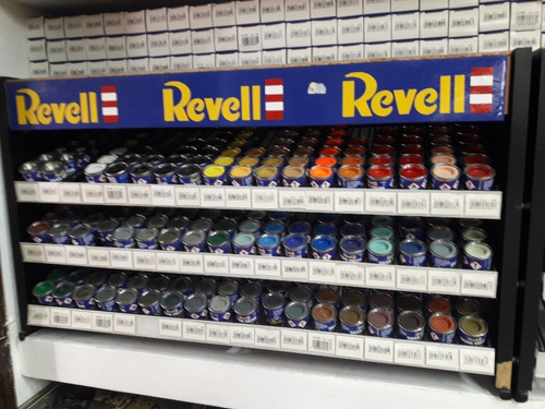 Revell Pack 4 Pinturas A Eleccion Ver Codigos Disponibles