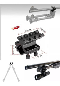 Montura P/ Cañon Caceria Gotcha Rifle Pistola Escopeta