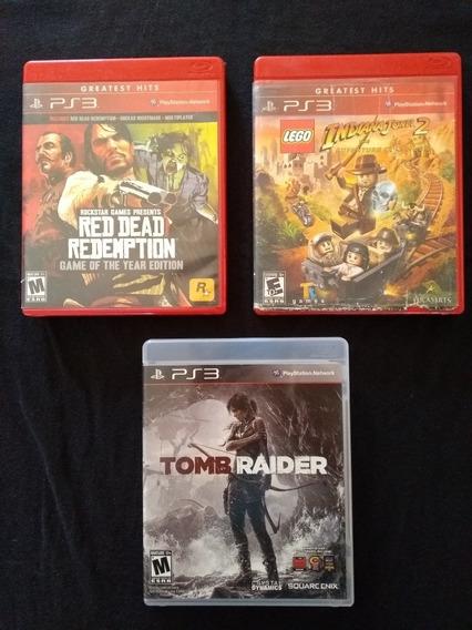 Lote De Jogos Ps3 Playstation 3 Mídia Física , Red Dead Goty