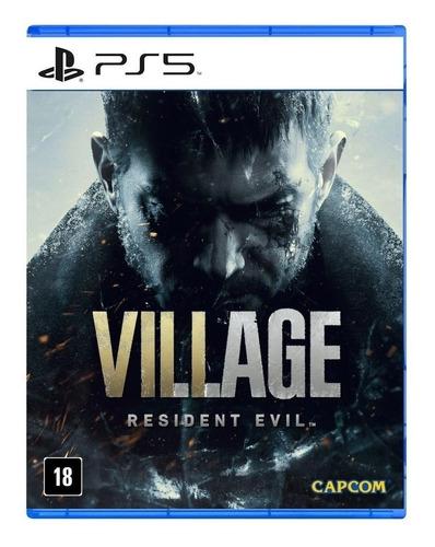 Imagen 1 de 3 de Resident Evil Village Standard Edition Capcom PS5  Físico