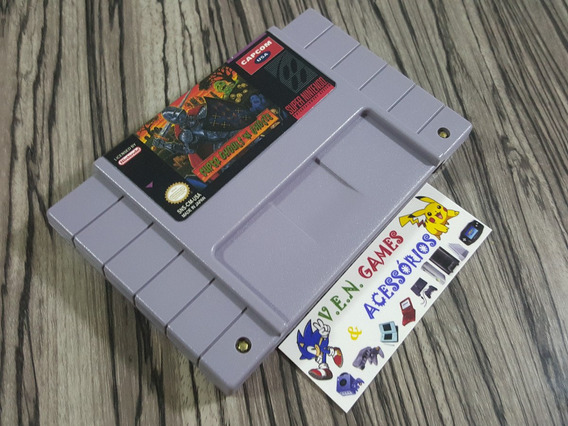 Super Ghouls´n Ghosts Original Repro Snes + Frete Gratis!!!!